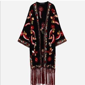Beautiful embroidered kimono